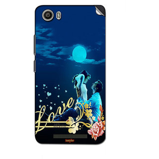 Instyler Mobile Skin Sticker For Lava Iris X8