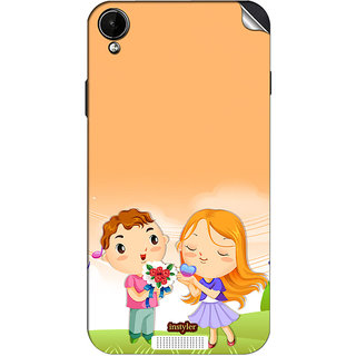 Instyler Mobile Skin Sticker For Lava Iris X1 Min