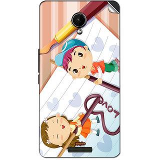 Instyler Mobile Skin Sticker For Lava Iris X1 Selfie