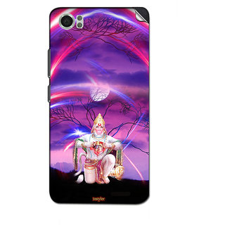 Instyler Mobile Skin Sticker For Lava Iris X5 4G
