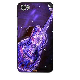 Instyler Mobile Skin Sticker For Lava Iris X5 4G