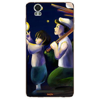 Instyler Mobile Skin Sticker For Lava Iris X1 Grand