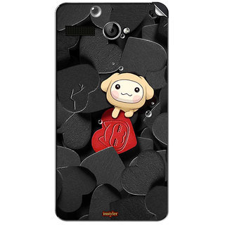 Instyler Mobile Skin Sticker For Lava Flair P1
