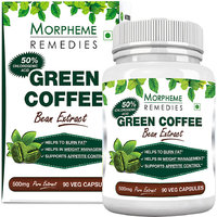 Morpheme Green Coffee Bean Extract 500mg - 90 Veg Caps