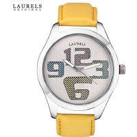 Laurels Colors Analog Silver Dial Mens Watch - Lo-Colors-1