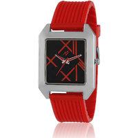 Yepme Prolin Unisex Watch - Black/Red