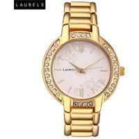 Laurels Mystic Analog White Dial Womens Watch - LL-Mst-101