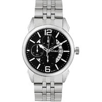 Laurels Aristocrat 6 Analog Black Dial Mens Watch -  Lo-Ast-602