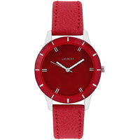 Laurels Colors Analog Red Dial Womens Watch - Lo-Colors-1003