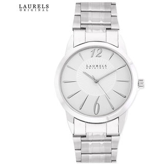Laurels Polo 4 Analog Silver Dial Mens Watch - Lo-Polo-403