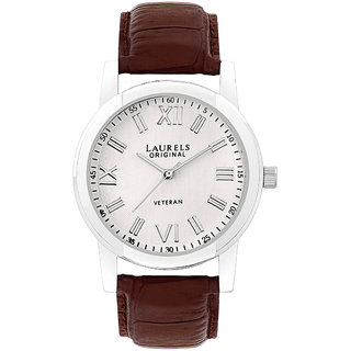 Laurels Lapse 1 Analog Silver Dial Mens Watch - Lo-Lps-101