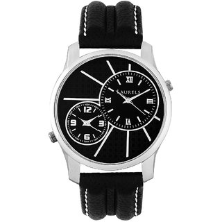 Laurels Invictus 4 Analog Black Dial Men Watch - Lo-Inc-402