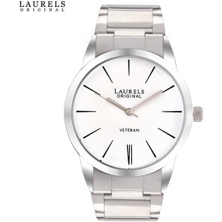 Laurels Polo 1 Analog White Dial Mens Watch - Lo-Polo-101