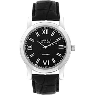 Laurels Lapse 1 Analog Black Dial Mens Watch - Lo-Lps-102