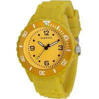 Laurels Ice Analog Yellow Dial Kids Watch - Lo-IC-0808