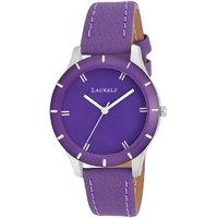 Laurels Colors Analog Purple Dial Womens Watch - Lo-Colors-1004