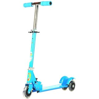 Kids Scooter With Lightning Wheels Assorted available at ShopClues for Rs.559
