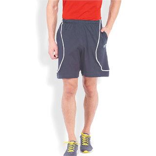 2Go Active Gear Usa Denim/White Sports Shorts Ec-Shs-21-Denim-White
