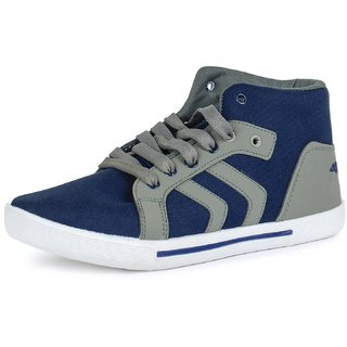 20%off Chevit MenS Blue Grey Sneakers Lace-Up Shoes (NR-114-GRY- 4dccfbf71