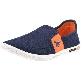 Chevit Mens Multicolor Slip on Sneakers