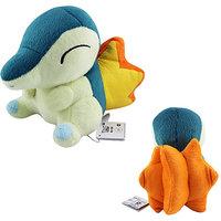 14cm Cute Pokemon Cyndaquil Soft Plush Stuffed Doll Toy