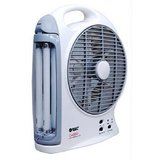 Buy Orbit Gazabo 8 inches Rechargeable Fan with Light