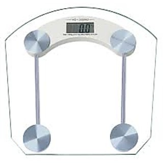 Digital Personal Weight Scale Glass Weighing Machine available at ShopClues for Rs.690