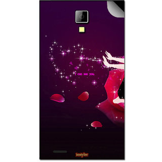 Instyler Mobile Skin Sticker For Lava Eg932