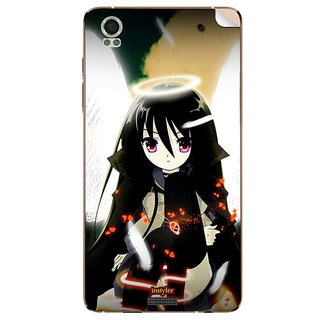 Instyler Mobile Skin Sticker For Lava Iris Pro 20