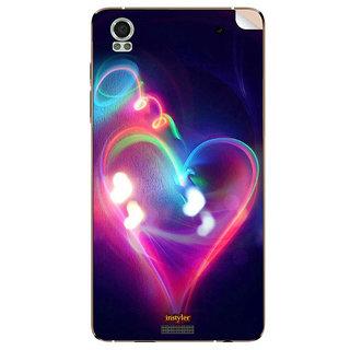 Instyler Mobile Skin Sticker For Lava Iris Pro 20
