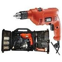 Jsm Black&Decker KR504RE-K12 10mm Impact Drill With Smart Tool Kit