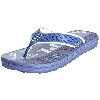 Happy Trendy Flip Flops-Ipl Blue