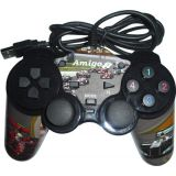 Amigo Dual Shock Pc Usb Game Pad Formula 1 Version