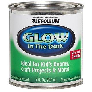 Night Glow In The Dark Radium Paint 207 Ml Rust Oleum Buy Night Glow In The Dark Radium Paint
