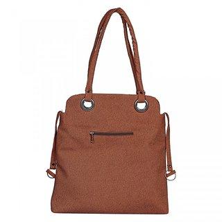 Fashno Ladies Hand Bag Light Brown Colour (FB-LBRN-06)