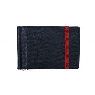 Iris Slim Leather Money Clip Mens Wallet