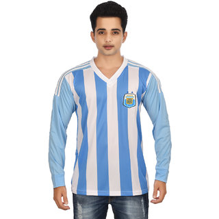 Argentina Full Sleeves V Neck Jersey