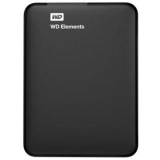 WD Elements Portable 1TB USB 3.0 External Hard Drive (Black)