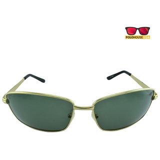 Polo House USA Mens Sunglasses ,Color-Gold  ShengP2802gold