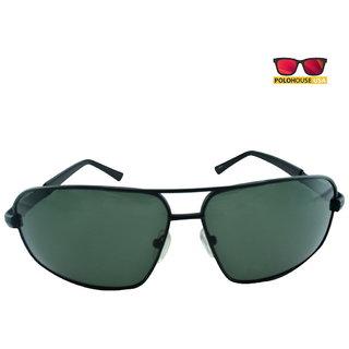Polo House USA Mens Sunglasses ,Color-Black ShengP8816black