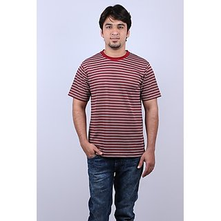 Onway Max Striper Round Neck T-shirt