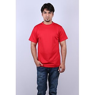 Onway Max Solid Red Color T-shirt