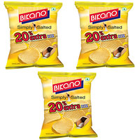 Bikano Chips - Simply Salted 60 Gm (Pack Of 3)