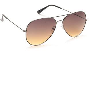 Porus Club Brown Aviator Sunglasses-Pcms-103 PCMS-103