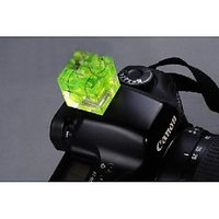Gadget Hero's Triple Axis Bubble Level Gradienter Hot Shoe Canon, Nikon, Pentax ,Olympus  For Any Hotshoe Flash Camera
