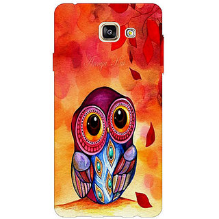 HI5OUTLET Premium Quality Printed Back Case Cover For SAMSUNG GALAXY A7 (2016) EDITION / A710 Design 17