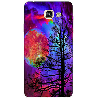HI5OUTLET Premium Quality Printed Back Case Cover For SAMSUNG GALAXY A7 (2016) EDITION / A710 Design 18