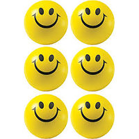 SMILEY BALLS - 6 PIECES PACK