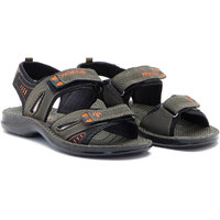 Provogue MenS Black Casual Sandals (PV1105-Black)