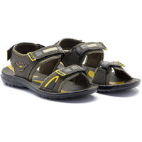 Provogue MenS Black Casual Sandals (PV1106-Black)